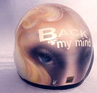 Back of My Mind Helmet 3
