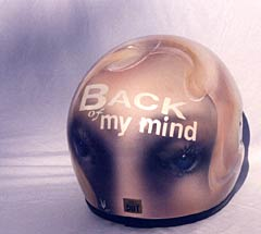 Back of My Mind Helmet 4