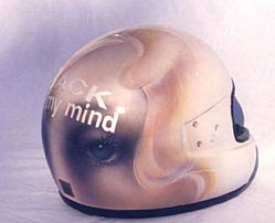 Back of My Mind Helmet 5